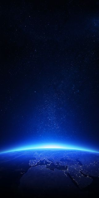Обои на телефон темные, космос, земля, звезда, галактика, аврора, galaxy