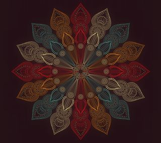 Обои на телефон цветы, мандала, абстрактные