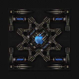 Обои на телефон технология, эпл, черные, стальные, металл, логотипы, дизайн, technical, apple