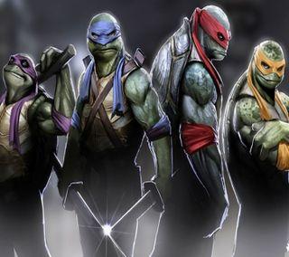 Обои на телефон черепахи, ниндзя, новый, raphael, michelangelo, leonardo, donatello