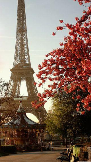Обои на телефон тур, париж, драма, башня