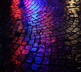 Обои на телефон отражение, свет, путь, ночь, дорога
