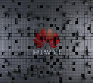 Обои на телефон кубы, хуавей, серые, логотипы, mate7, huawei, 3д, 3d