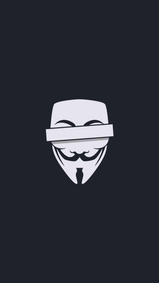 Обои на телефон анонимус, маска, векторные, censored