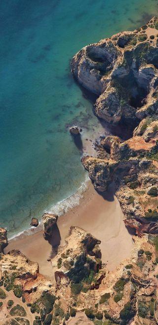 Обои на телефон стандартные, природа, пляж, пейзаж, море, андроид, pixel 2 xl, pixel, android