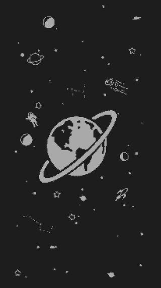 Обои на телефон пришельцы, пришелец, космос, космонавт, звезда, planetas, pixel, estrela