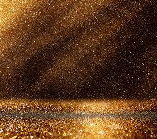 Обои на телефон сияние, сверкающие, космос, золотые, звезда, дождь, дизайн, led, golden rain