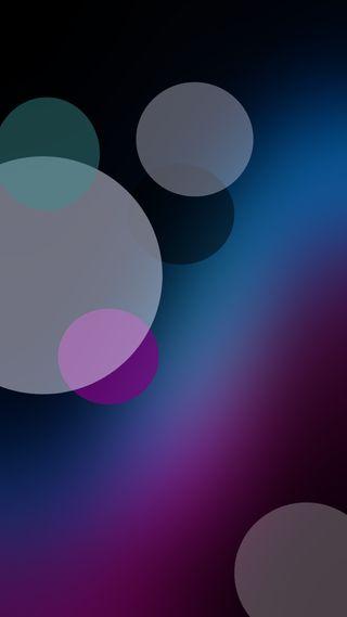 Обои на телефон круги, цветные, фиолетовые, синие