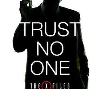 Обои на телефон доверять, x-files 2016, x-files, x files, trust no one, scully, mulder