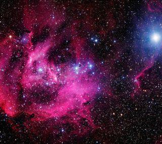 Обои на телефон туманность, оптимус, космос, звезда, галактика, lg, galaxy