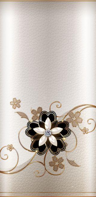 Обои на телефон элегантные, черные, цветы, цветочные, прекрасные, золотые, дизайн, бриллиант, elegant design