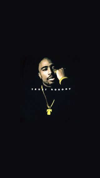 Обои на телефон хип хоп, тупак, рэпер, доверять, рэп, реал, nobody, 2pac