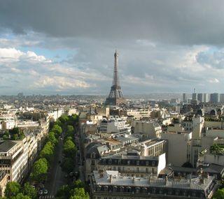 Обои на телефон эйфелева башня, париж, европа