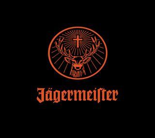 Обои на телефон олень, логотипы, liquor, jagermeister, jager logo, jager