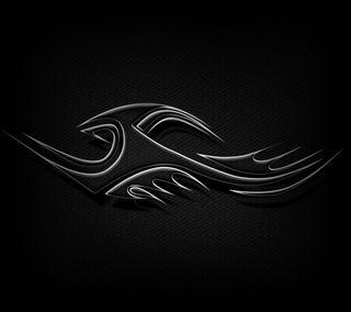 Обои на телефон племенные, черные, карбон, волокно, абстрактные, carbon fiber tribal, abstract black