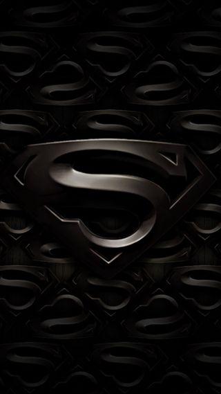 Обои на телефон стальные, супермен, логотипы