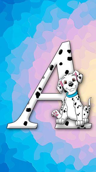 Обои на телефон щенки, собаки, милые, буквы, letter a dog, dalmatian