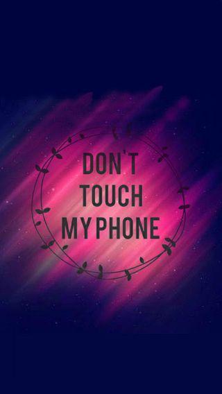 Обои на телефон трогать, телефон, не