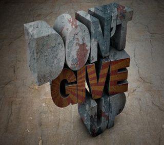 Обои на телефон цитата, рок, не, up, hd, give, dont give up