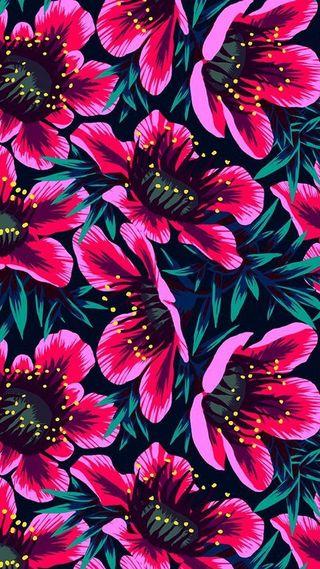 Обои на телефон яркие, цветы