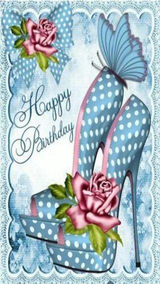 Обои на телефон карты, синие, обувь, день рождения, birthday card