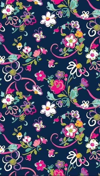 Обои на телефон цветы, дизайн