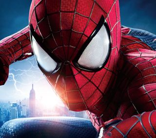 Обои на телефон нью йорк, человек паук, паук, марвел, комиксы, spider man 2014, marvel