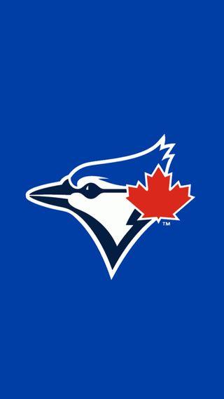 Обои на телефон blue jays logo, синие, логотипы, спортивные, бейсбол