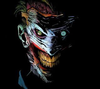 Обои на телефон смайлики, джокер, бэтмен, аниме