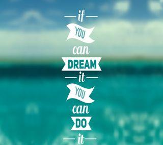 Обои на телефон оно, мечта, doit, do it dream
