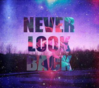 Обои на телефон правда, цитата, слова, новый, никогда, жизнь, взгляд, new quote, never look back
