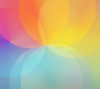 Обои на телефон радуга, круги, абстрактные, lg g3 rainbow circle, lg, g3