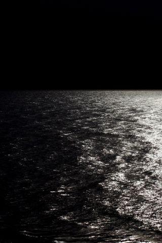 Обои на телефон темные, природа, озеро, ночь, горизонт, вода, horizon hd