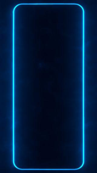 Обои на телефон сяоми, темные, синие, свет, самсунг, рамка, неоновые, длинный, граница, амолед, xiaomi, samsung, oneplus, long neon frame 1, amoled