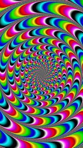Обои на телефон яркие, цветные, странные, красочные, иллюзии, optical, odd, 3д, 3d