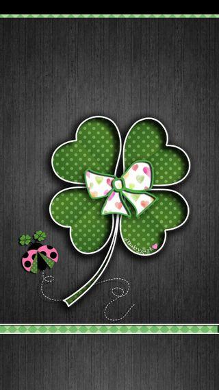 Обои на телефон трилистник, ирландские, ирландия, зеленые, девушки, божья коровка