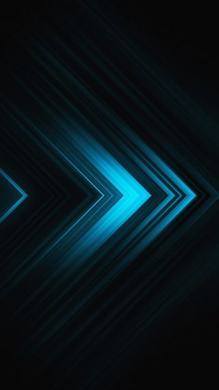 Обои на телефон треугольники, формы, синие, абстрактные, blue triangles