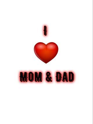 Обои на телефон сердце, отец, мама, любовь, mom dad, love