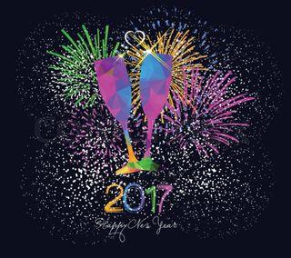 Обои на телефон год, счастливые, праздник, новый, happy new year 2017, 2017
