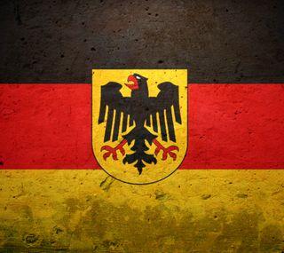 Обои на телефон немецкие, флаг, логотипы
