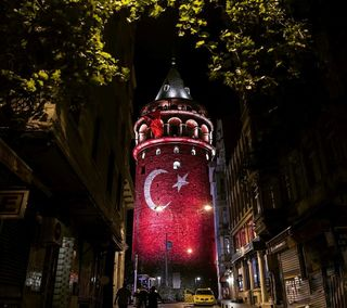 Обои на телефон турецкие, флаг, свобода, день, галата, turk freedom day, indepence