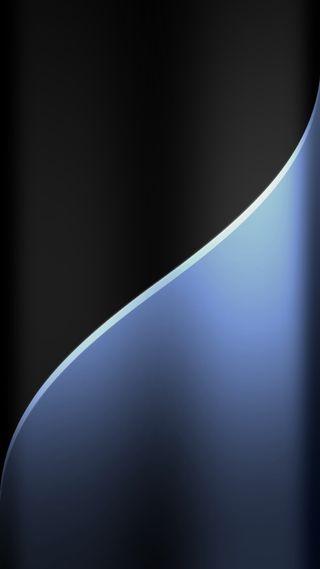 Обои на телефон черные, фон, стиль, синие, металл, грани, абстрактные, s7, edge style