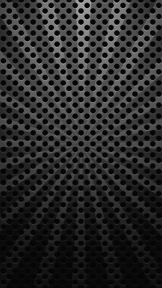 Обои на телефон точки, металл, карбон, абстрактные