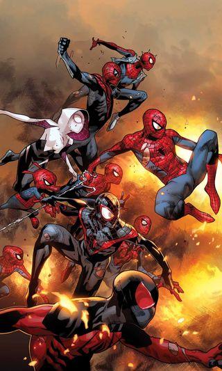 Обои на телефон паук, вселенная, spider man universe, spider man
