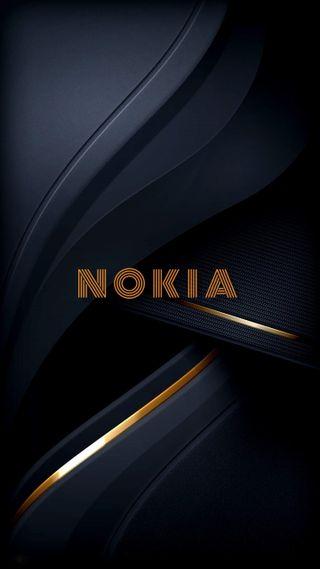 Обои на телефон нокиа, черные, цвета, превосходный, кожа, золотые, грани, абстрактные