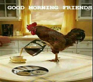 Обои на телефон чай, утро, друзья, good morning tea, co k