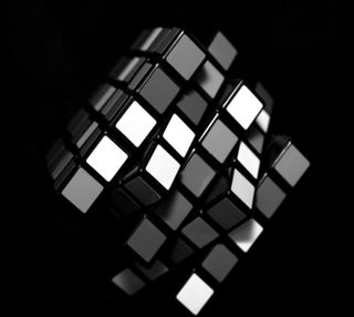 Обои на телефон куб, rubiks cube