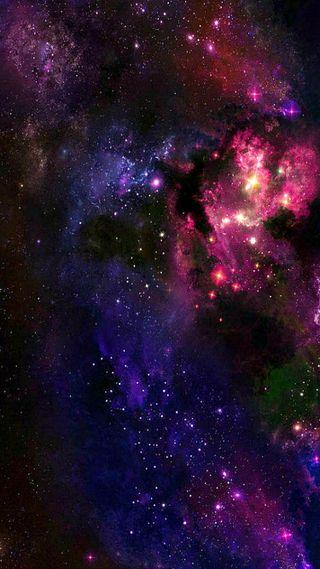 Обои на телефон глубокие, туманность, космос, звезды, галактика, galaxy