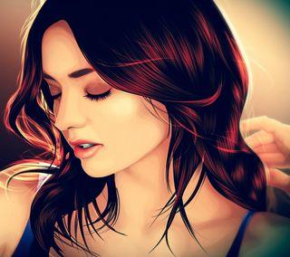 Обои на телефон чувства, прекрасные, милые, любовь, картина, девушки, love