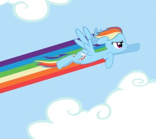 Обои на телефон соник, радуга, пони, мой, маленький, sonic rainboom dash, sonic rainboom, rainbow dash, mlp